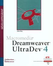 Developpement Macromedia ; Dreamweaver Ultradev - Couverture - Format classique
