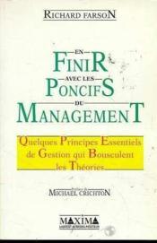 En finir avec les poncifs du management - Couverture - Format classique