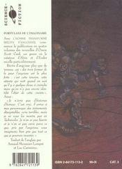 L Homme Transforme Portulans De L Imaginaire 1 - 4ème de couverture - Format classique