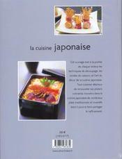 Livre la cuisine japonaise emi kazuko - Cuisine japonaise livre ...