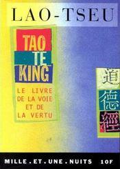 Tao te king ; le livre de la voie et de la vertu - Intérieur - Format classique