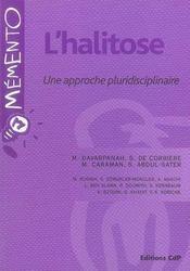 L'halitose ; une approche pluridisciplinaire - Intérieur - Format classique