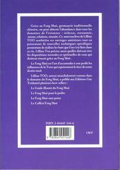 Creez L'Abondance Avec Le Feng Shui - 4ème de couverture - Format classique