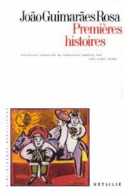 Premieres Histoires - Couverture - Format classique