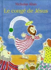 Le Conge De Jesus - Couverture - Format classique