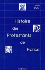 Histoire des protestants de France - Couverture - Format classique