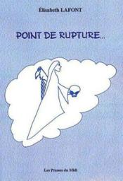 Point De Rupture - Couverture - Format classique