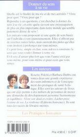 Donner Du Sens A Sa Vie N.67 - 4ème de couverture - Format classique