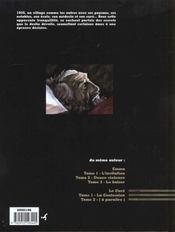 Le Cure - Tome 1 - La Confession - 4ème de couverture - Format classique