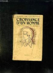 Croissance D Un Homme. - Couverture - Format classique