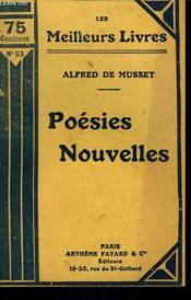 Poesies Nouvelles. Collection : Les Meilleurs Livres N°53. - Couverture - Format classique