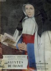 Saintes De France. Le Livre Chretien N° 21. - Couverture - Format classique