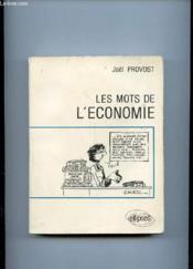 Les mots de l'economie - Couverture - Format classique