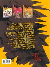 Rat'S T.1 ; En Partance Pour Nulle Part - 4ème de couverture - Format classique