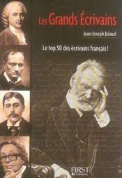Le Petit Livre ; Les Grands Ecrivains - Intérieur - Format classique