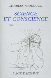 Science Et Conscience - Intérieur - Format classique