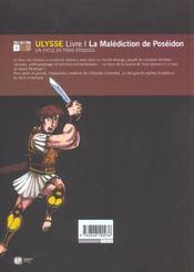 Ulysse t1 - 4ème de couverture - Format classique