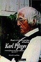 Karl Pfleger Itineraire Dun Pretre Alsacien - Intérieur - Format classique