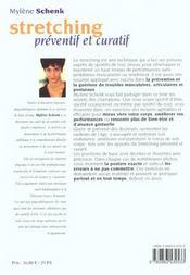 Stretching preventif et curatif n.146 - 4ème de couverture - Format classique