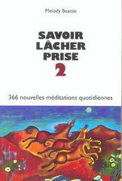 Savoir Lacher Prise 2 - Intérieur - Format classique