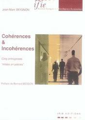Cohérences et incohérences - Intérieur - Format classique