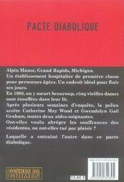 Le pacte diabolique - 4ème de couverture - Format classique