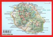 La Réunion ; les plus belles randonnées entre mer et montagne ; 52 itinéraires - 4ème de couverture - Format classique