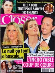 Closer N°343 du 07/01/2012 - Couverture - Format classique