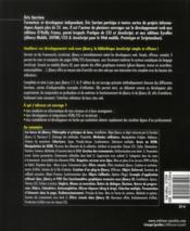 JQuery 1.7 et jQuery UI ; une bliothèque pour javascript - 4ème de couverture - Format classique