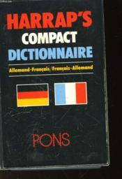 Harrap'S Compact Dictionnaire, Allemand-Francais, Francais-Allemand - Couverture - Format classique