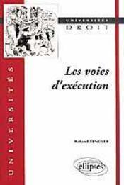 Les Voies D'Execution - Intérieur - Format classique
