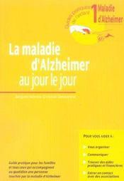 La maladie d'Alzheimer au jour le jour - Intérieur - Format classique