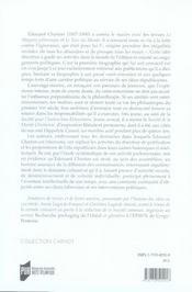 Édouard charton (1807-1890) et le combat contre l'ignorance - 4ème de couverture - Format classique