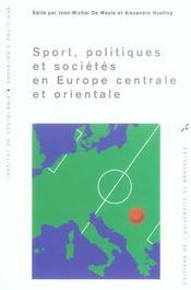 Sport Politiques Et Societes En Europe Centrale Et Orientale - Intérieur - Format classique