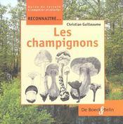 Reconnaître... les champignons - Intérieur - Format classique