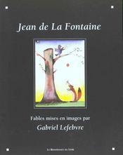 Les fables de La Fontaine - Intérieur - Format classique