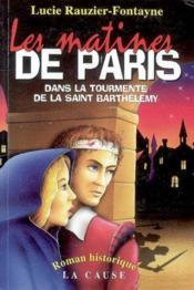 Les matines de paris - Couverture - Format classique