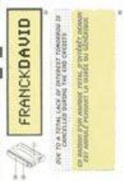 Franck David (Fra/Ang) - Intérieur - Format classique