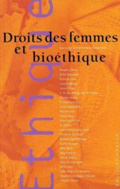 Droits des femmes et bioethique - Couverture - Format classique