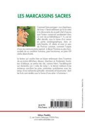 Les marcassins sacrés - 4ème de couverture - Format classique