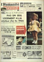 Humanite Dimanche (L') N°798 du 08/12/1963 - Couverture - Format classique