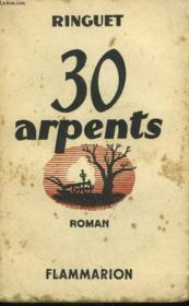 30 Arpents. - Couverture - Format classique
