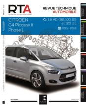 Vente  REVUE TECHNIQUE AUTOMOBILE N.824 ; Citroën C4 Picasso II phase 1 ; 1.6 hdi (92, 100, 115 et 120 ch) ; 2013-2016  - Etai - Collectif