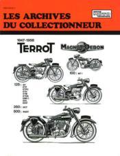 Terrot 100-125-350 Hct Et 500 Rgst (1947/1958) N 103 - Couverture - Format classique