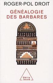 La généalogie des barbares - Intérieur - Format classique