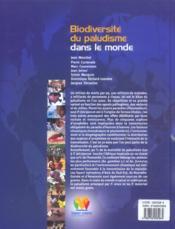 Biodiversite Du Paludisme Dans Le Monde - 4ème de couverture - Format classique