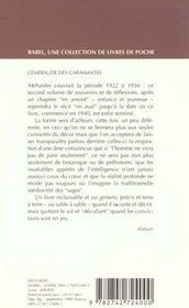 L'Emeraude Des Garamantes Babel 391 - 4ème de couverture - Format classique