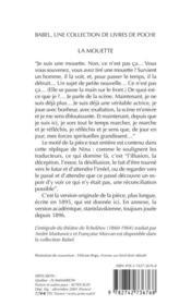 La Mouette (Ne) Babel 188 - 4ème de couverture - Format classique