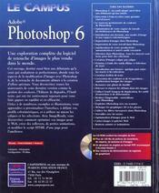 Le Campus Photoshop 6 - 4ème de couverture - Format classique