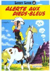 Lucky Luke t.10 ; alerte aux pieds-bleus - Intérieur - Format classique